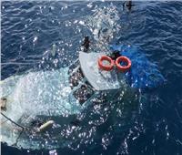 طيار إلماني يستقبل استغاثة من لنش سياحى تعرض للغرق برأس غارب