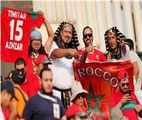 أمم إفريقيا 2019| «فخر العرب» لافتة طيبة من الجماهير المغربية قبل مواجهة جنوب أفريقيا