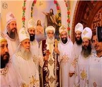 تدشين معمودية كنيسة العذراء والشهيد في «بمم» بالمنوفية