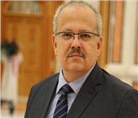 رئيس جامعة القاهرة ينعي نجل الشيخ سلطان القاسمي حاكم الشارقة