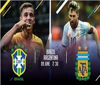 كوبا أمريكا 2019| تعرف على موعد مباراة البرازيل والأرجنتين.. والقنوات الناقلة