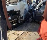 10 سيارات إسعاف لنقل الضحايا في حادث مروع بالطريق الصحراوي قنا