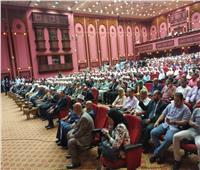 بدء حفل «القراءة العربي» بالسلام الوطني