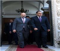 مصطفى مدبولي يستقبل رئيس الوزراء الأردني