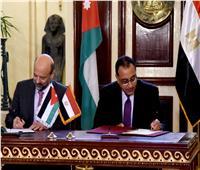 مدبولي يشهد توقيع عدد من الاتفاقيات بين مصر والأردن