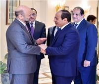 السيسى يشيد بالروابط التاريخية بين مصر والأردن على المستويين الرسمي والشعبي