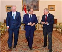 السيسي يستقبل رئيس لجنة اعتمادات العمليات الخارجية بمجلس الشيوخ الأمريكي