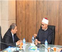 أمين «البحوث الإسلامية» يلتقي وفدًا من أوزبكستان لبحث التعاون