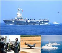 ختام فعالياتالتدريب البحرى الجوى المشترك «رمسيس 2019» بالبحر المتوسط