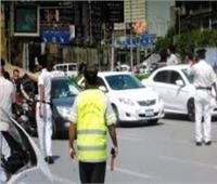 3500 مخالفة مرورية في الجيزة