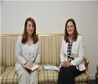 وزيرتا التضامن والتخطيط تعقدان اجتماعًا لإطلاق برنامج مبادرة حياة كريمة