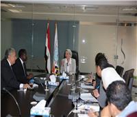 وزيرة البيئة تناقش مع نائب المدير الاقليمي لبرنامج الأمم المتحدة قضايا البيئية الأفريقية