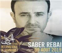 صابر الرباعي يحي حفلاً بمهرجان الحمامات الدولي بتونس