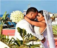 30 صورة من حفل زفاف ابن ماجد المصري بالعلمين