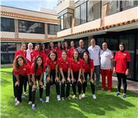 «شابات الطائرة» يصلن المكسيك للمشاركة في بطولة العالم