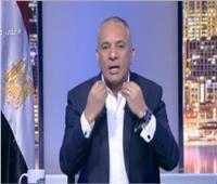 أحمد موسى ينفعل على مشاهد تمنى فوز جنوب إفريقيا على مصر