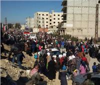 """""""سانا"""" : بدء عودة العائلات السورية المهجرة إلى منازلها في ريف حمص"""