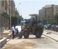 صور.. جهاز القاهرة الجديدة يطلق حملة «هنغيرها بالألوان» لتجميل المدينة