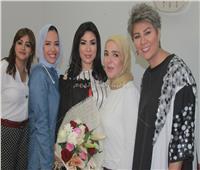 صور  مفيدة شيحة ومنى عبد الغني تحتفلان بعيد ميلادسهير جودة