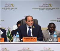 صور| تفاصيل رئاسة السيسي لقمة الاتحاد الأفريقي الاستثنائية بالنيجر
