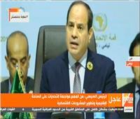 فيديو| السيسي: مصر والدول الأفريقية قطعوا شوطًا كبيرًا لإنجاح العديد من الملفات