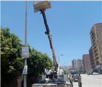 صور| إطلاق مبادرة «الهرم منور» بالجيزة