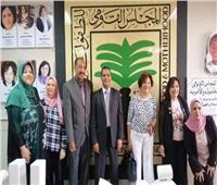 «القومي للأمومة» يستقبل هدى بدران للمشاركة في مناهضة العنف ضد الأطفال