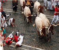 مهرجان سان فيرمين.. احتفال المخاطرة بالحياة أمام الثيران