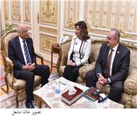 رئيس النواب يستقبل أول مصرى منتخب بالبرلمان الكندي
