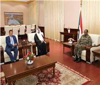 مشعل بن فهم السلمي يلتقي رئيس المجلس العسكري الانتقالي السوداني