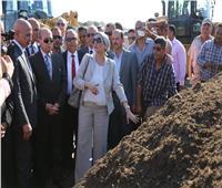 وزيرة البيئة تشهد افتتاح مصنع بيلا لتدوير المخلفات الصلبة بكفر الشيخ