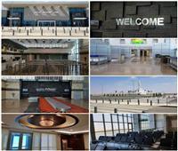 قبل التشغيل التجريبي.. صور ومعلومات عن مطار العاصمة الإدارية الجديد