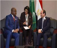 السيسي لنظيره الكونغولي: مصر تطلع للارتقاء بمستوى التنسيق والتشاور السياسي الثنائي بين البلدين