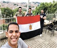 الرحالة الشاب أحمد شجيع: أنا حفيد الملك خوفو