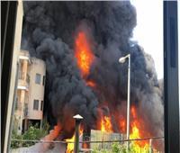 السيطرة على حريق داخل مخزن في كرداسة دون إصابات