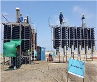 افتتاح المرحلة الأولى من مشروع معادن الرمال السوداء بمنطقة رشيد