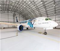 «إيرباص» تكشف عن طائرة «مصر للطيران» الجديدة