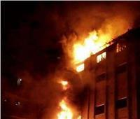 فيديو| حريق ضخم بكنيسة في حدائق القبة