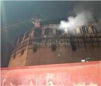 صور| شهود عيان يكشفون سبب حريق كنيسة الأنبا بولا