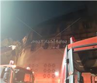 صور| السيطرة على حريق كنيسة الأنبا بولا