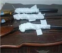أمن المنيا يضبط 20 قطعة سلاح ناري وينفذ 1750 حكمًا خلال حملة مكبرة