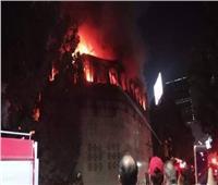 الكنيسة: لم يسفر حريق دير الأنبا بولا عن خسائر بشرية