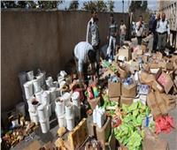 الصحة: إعدام 2181 طن أغذية و40 ألف لتر سوائل فاسدة خلال 5 أشهر