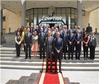مصر للطيران توقع بروتوكول تعاون مع نادي الجزيرة