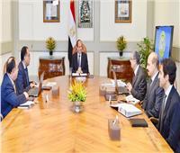 الرئيس يبحث مع مسئولين كبار جهود الارتقاء بالخدمات المقدمة للمواطنين