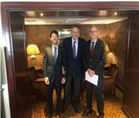 «الوكيل» يبحث مع السفير الأرجنتيني فرص إقامة مخازن للحبوب بمحور قناة السويس