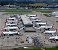 تعليق الرحلات في مطار جاتويك بلندن