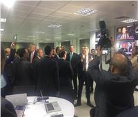 ياسر رزق يعرض آليات عمل صالة التحرير المدمجة بـ«أخبار اليوم»