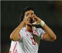 أمم إفريقيا 2019  جماهير ملعب السلام تهتف لفرجاني ساسي أثناء تبديله