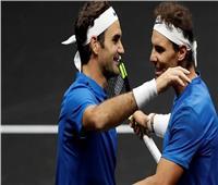 بث مباشر| لقاء عمالقة التنس بين فيدرير ونادال في «ويمبلدون»